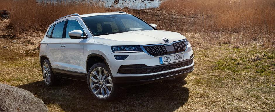 Skoda s-a indragostit de SUV-uri. Cehii pregatesc un nou astfel de model pentru 2019