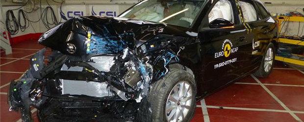 Skoda Scala, cel mai bun rezultat la protectia pentru pasagerul din dreapta. Rivalul Golf-ului este o masina de 5 stele