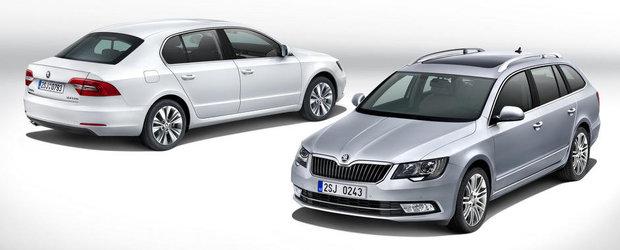 Skoda Superb Facelift, de la 19.000 de euro in Romania