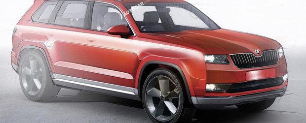 Skoda va scoate pe piata un nou SUV