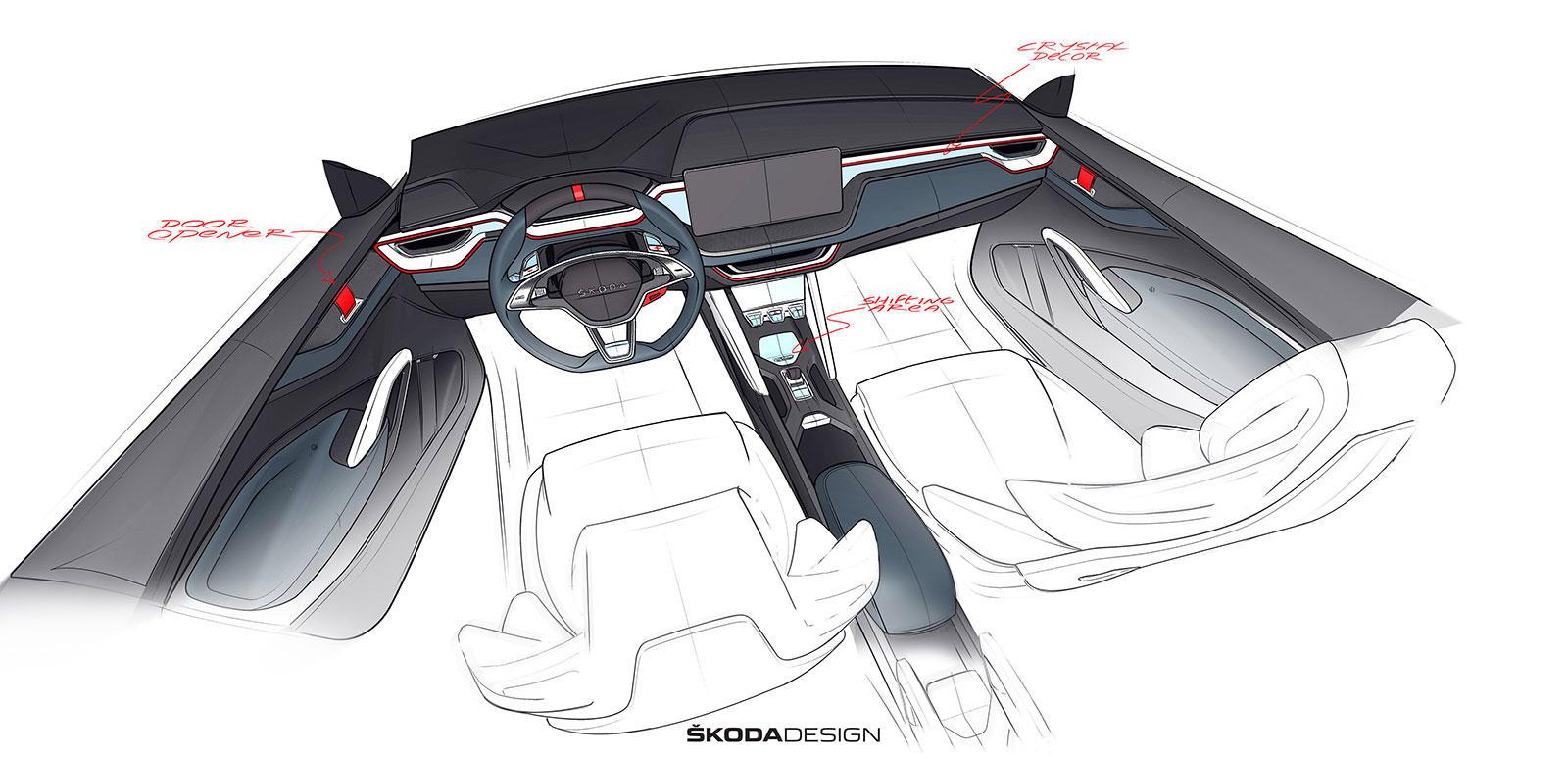 Skoda Vision RS concept - Skoda Vision RS concept