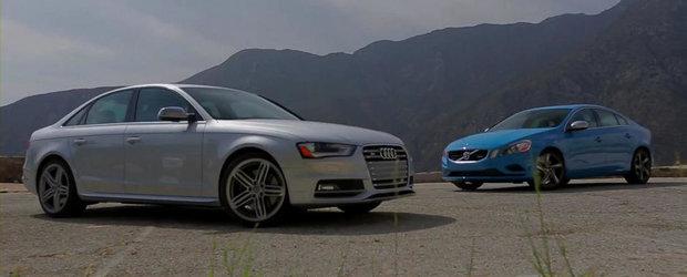 Sleeper versus Sleeper: Audi S4, fata in fata cu Volvo S60 T6