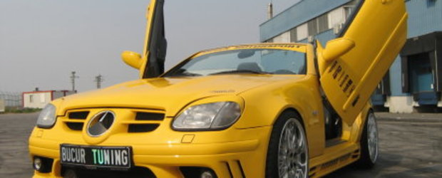 SLK 170 Kompressor si Seat Leon by Bucur Tuning