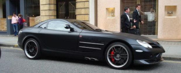 SLR722 Edition vopsit in negru mat