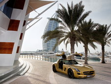 SLS AMG in Desert Gold & G55 AMG Edition 79