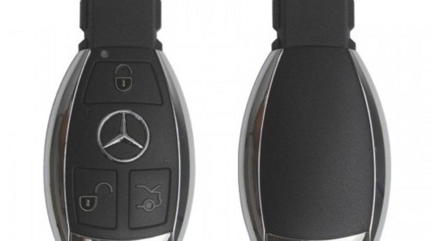 Smart cheie 3 butoane ( 433mhz/ NEC cip) Mercedes, cod 208 - SC382450