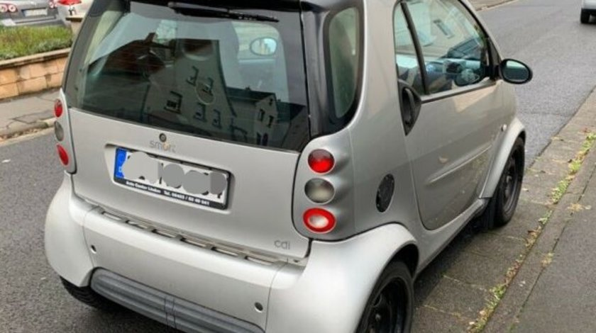SMART fortwo CITY-COUPE gri (450) 0.6 turbo 40 kw 2001