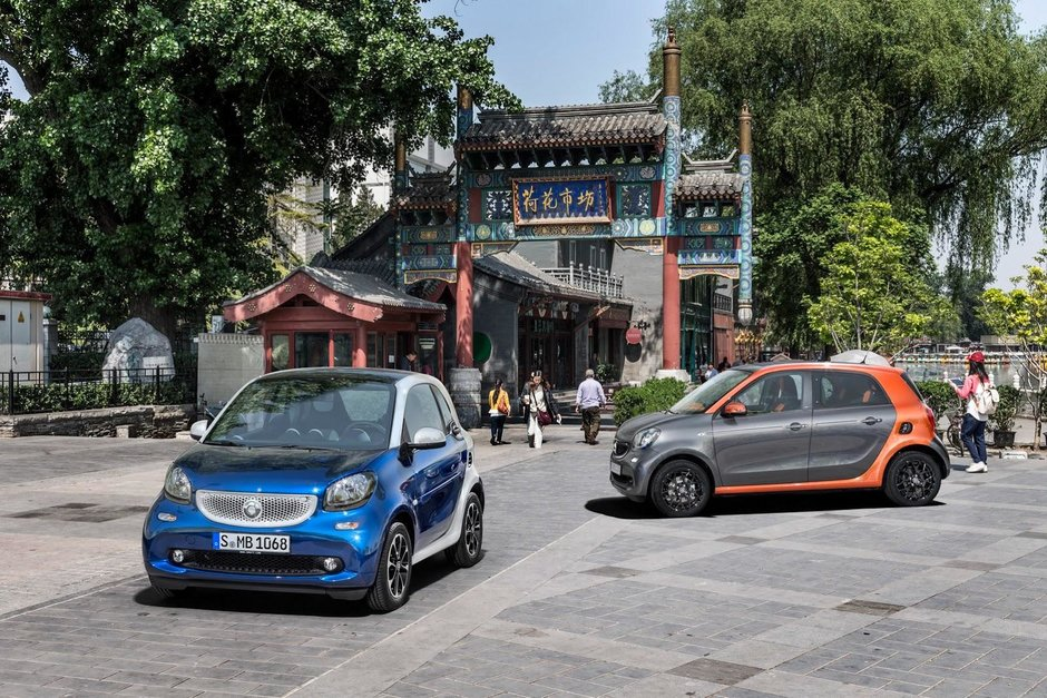 Smart ForTwo si ForFour - Galerie Foto