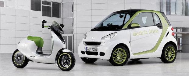 Smart va lansa un scuter electric in 2014