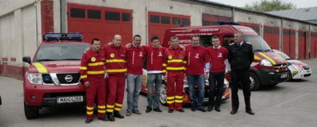 SMURD Cluj si Napoca Rally Academy continua parteneriatul