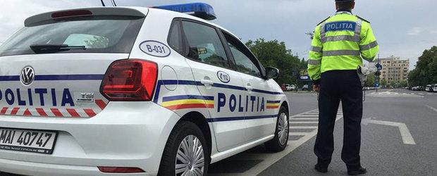 Sofer lasat fara certificatul si placutele de inmatriculare in Bucuresti dupa ce a condus o masina cu toba modificata si anvelopele uzate peste limita