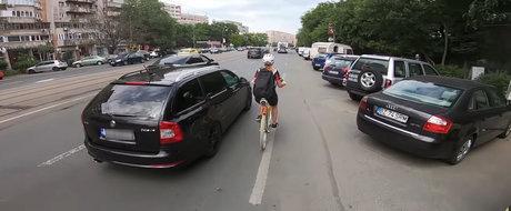 Sofer vs. biciclist in Bucuresti: cine are dreptate?