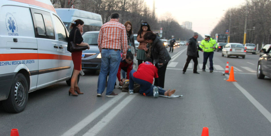 SOFERI, LASATI NAIBII ALCOOLUL LA VOLAN! Despagubire de 1,5 milioane de Euro pentru o femeie lovita pe trecerea de pietoni