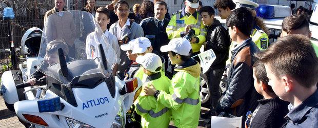 Soferi, luati copiii de mana si mergeti la Zilele Portilor Deschise organizate de Politia Romana