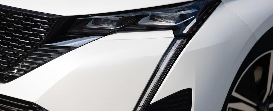 Soferii de Golf isi vor scoate masinile la vanzare cand vor vedea cat de bine arata noul Peugeot 308. Galerie foto completa