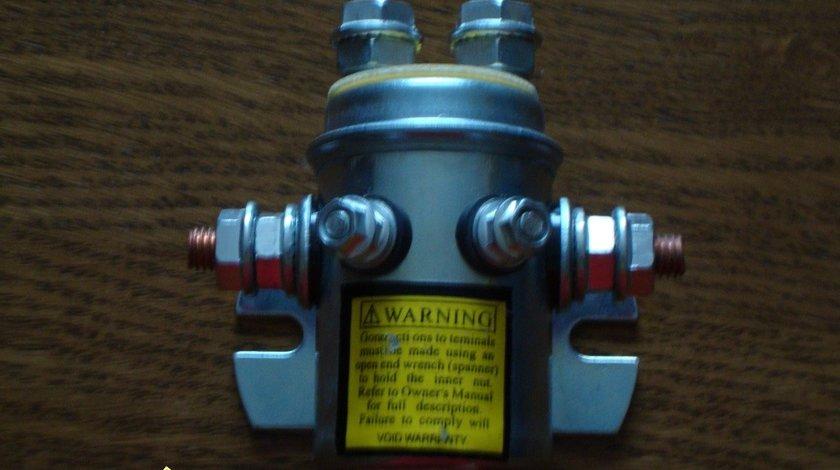 Solenoid, bobina de sens, releu  pentru troliu electric la 12V sau 24V