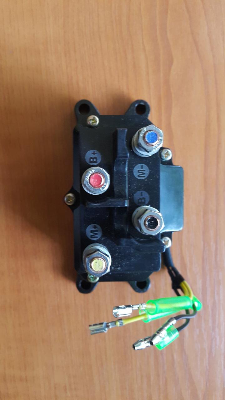 Solenoid,releu,bobina dublu sens troliu ATV (inclusiv WARM)