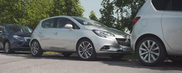 Solutia Opel pentru a scapa de chinurile parcarii laterale