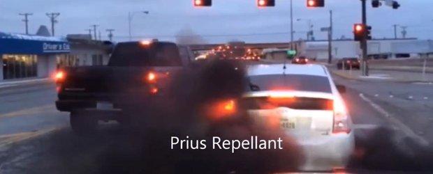 Solutie anti-ecologie: camioanele diesel care afuma strazile