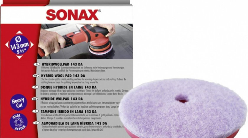 Sonax Burete Polish Lana 143MM 493800