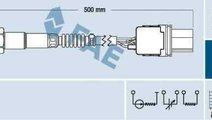 Sonda Lambda BMW 3 (E46) Producator RENAULT 22 6A ...