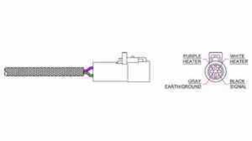 Sonda Lambda JAGUAR S-TYPE CCX DELPHI ES20318-11B1