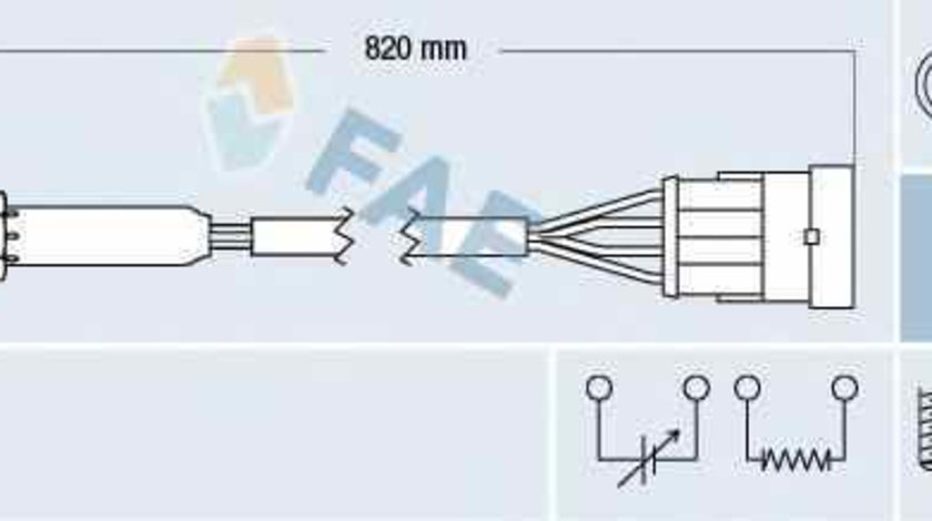Sonda Lambda OPEL ASTRA F combi 51 52 FAE 77184