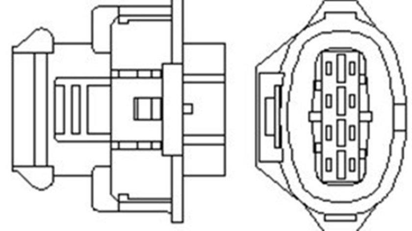 Sonda lambda OPEL ASTRA G, ASTRA H, ASTRA H GTC, CORSA C, MERIVA A, SIGNUM, TIGRA, VECTRA B, VECTRA C, VECTRA C GTS, ZAFIRA A; SAAB 9-3 1.8 intre 1995-2015