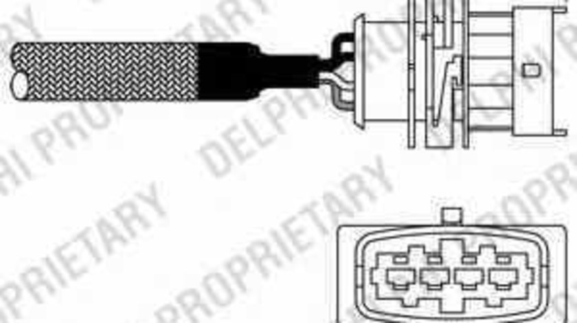 Sonda Lambda OPEL ASTRA G hatchback F48 F08 DELPHI ES10982-12B1