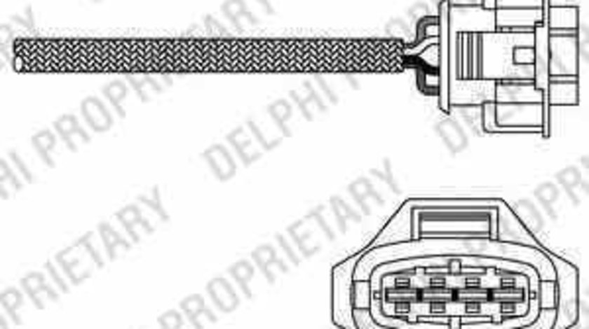 Sonda Lambda OPEL ASTRA G hatchback F48 F08 DELPHI ES20315-12B1
