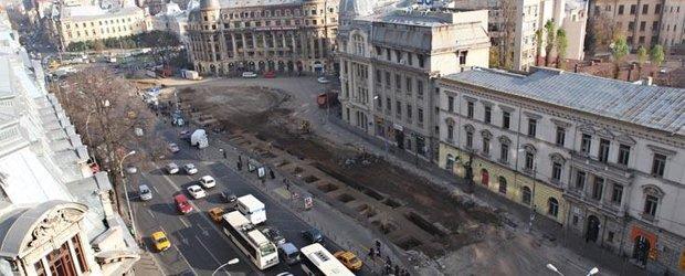 Sorin Oprescu: Parcarea subterana de la Universitate va fi inaugurata pe 20 iulie