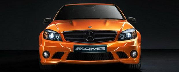 Special pentru Australia: Mercedes Concept 358 si SLS AMG negru mat!