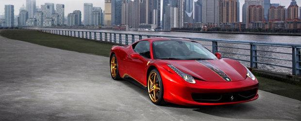 Special pentru China: Noul Ferrari 458 Italia ia infatisarea unui dragon