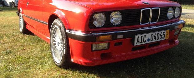Special pentru cunoscatori: BMW 333i E30, de vanzare in Africa de Sud