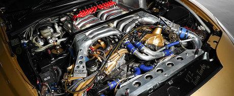 Special pentru cunoscatori. Se vinde celebra Toyota Supra cu motor V12 de la Top Secret