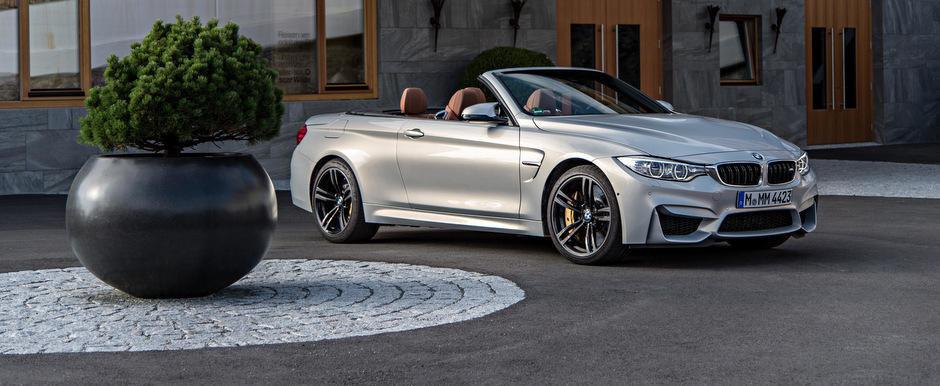 Special pentru fanii BMW: Peste 230 de imagini cu noul M4 Convertible