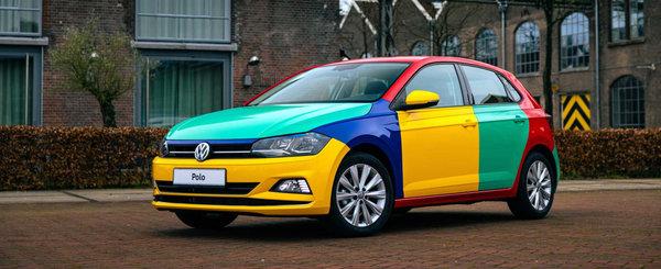 Special pentru nostalgici. Un Volkswagen Polo de ultima generatie a fost transformat in Harlekin