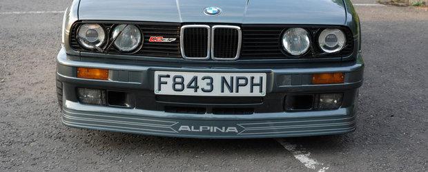 Special pentru pasionati: Atentie, se vinde un BMW E30 2.7 modificat de Alpina!