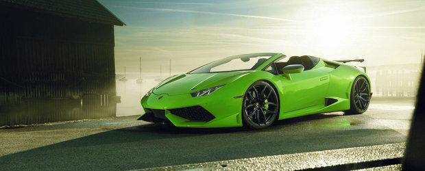 Specialistii Novitec stiu ce ii lipseste Lamborghini-ului Huracan: un supercharger si multi cai