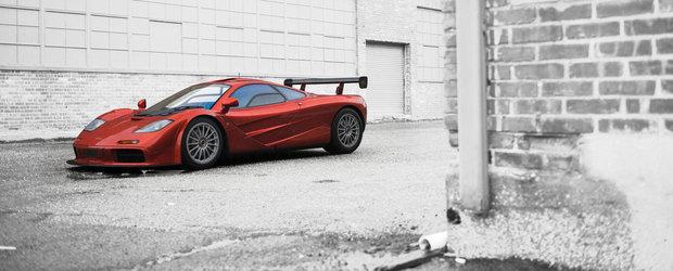 Specie rara: Un McLaren F1 Le Mans va fi scos la vanzare