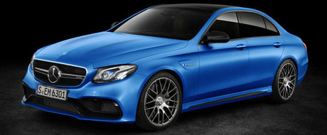 Specificatiile noului Mercedes E63 au ajuns pe internet. Uite cu ce se lauda super-sedanul german