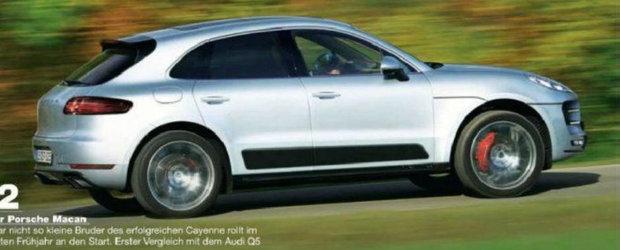 Specificatiile noului Porsche Macan au ajuns pe internet