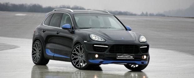 SpeedART TITAN EVO XL600 este un apetisant Porsche Cayenne Turbo de 600 cai putere