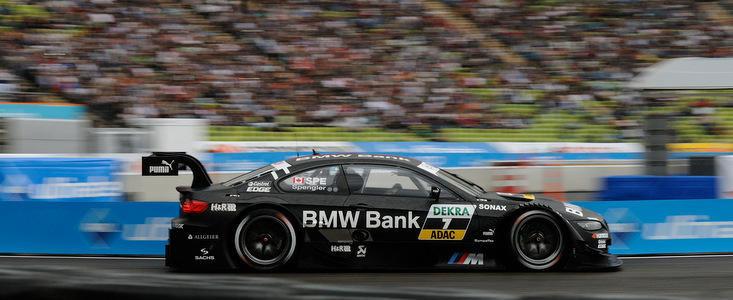 Spengler si M3 DTM, pe podiumul competitiei desfasurate pe Stadionul Olimpic