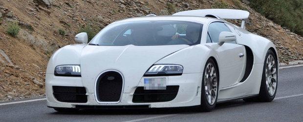 Spionat: Bugatti pregateste Veyron Grand Sport Super Sport