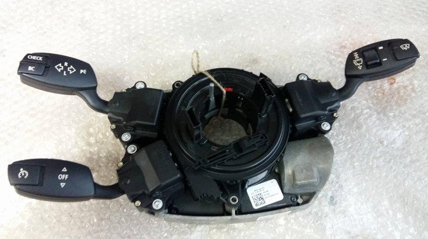 Spirala airbag cu bloc manete stergatoare bmw serie 5 e60 530 d 6911514 6952978