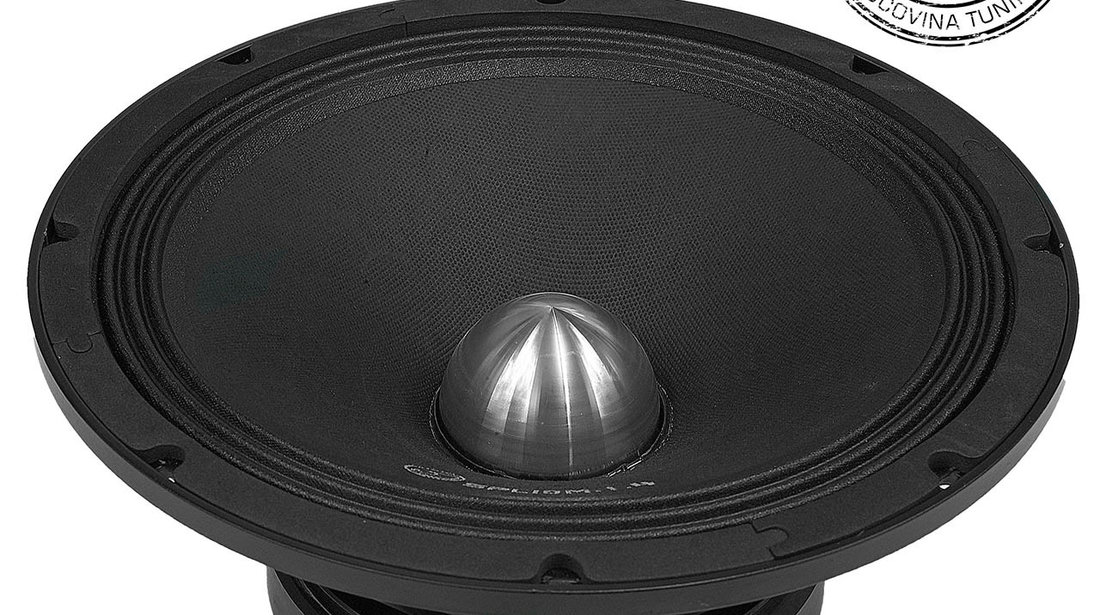 SPL10M.1S 10″ 25cm 4Ohm SVC Midrange Bass Woofer Single 400w RMS