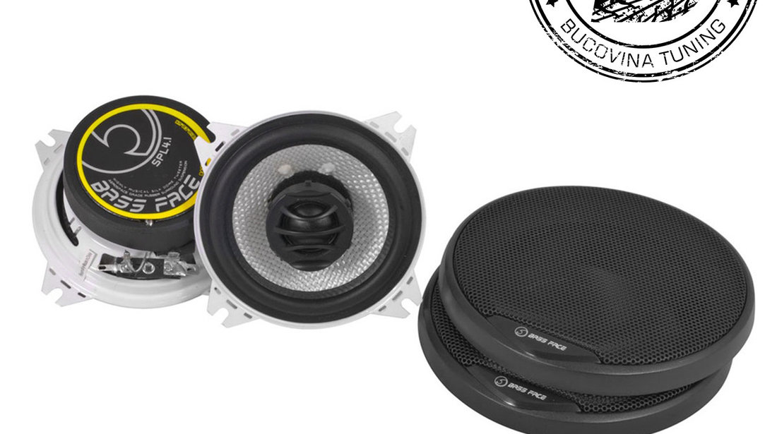 SPL4.1 4″ 10cm 4Ohm Coaxial 2 Way Speaker Pair 200w RMS