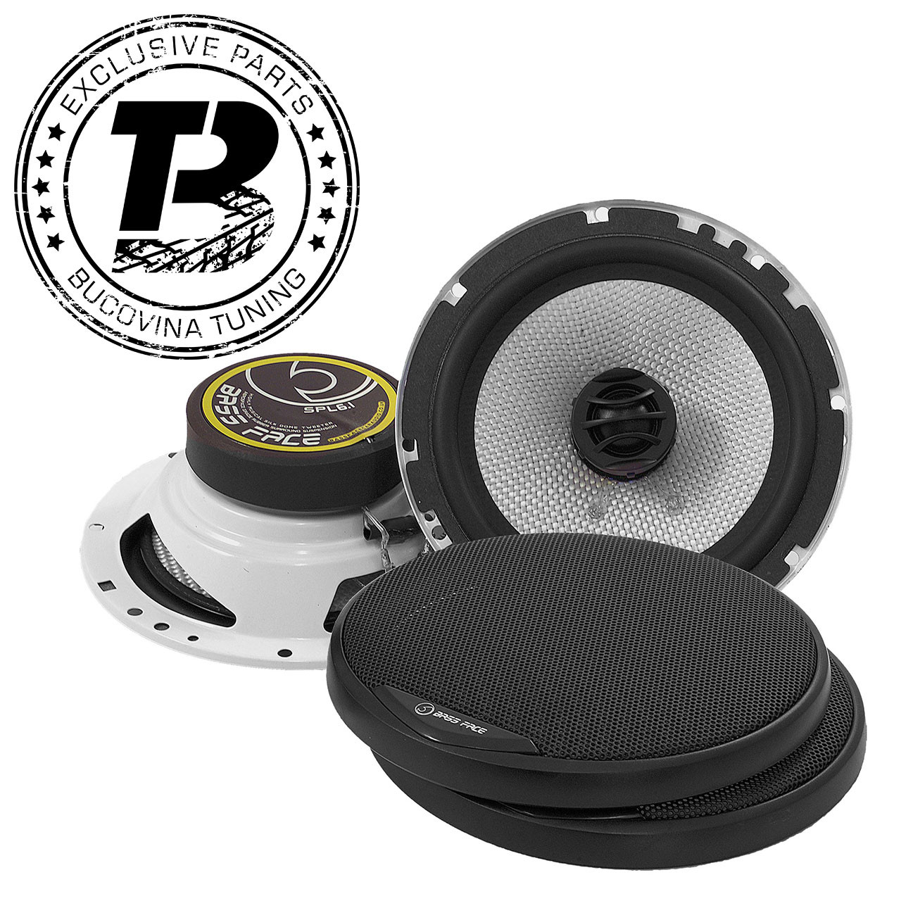 SPL6.1 6.5″ 16.5cm 4Ohm Coaxial 2 Way Speaker Pair 300w RMS