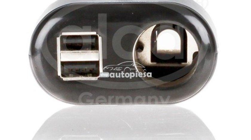 Splitter bricheta (1 bricheta + 2 x USB) ALCA 510 100 piesa NOUA